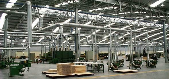 Hệ thống lọc bụi giúp hút lọc bụi tiết kiệm chi phí cao cho nhà xưởng hiện nay