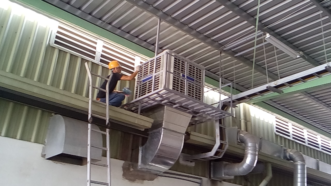 Lý giải nguyên nhân bạn cần mua máy làm mát để làm mát nhà xưởng