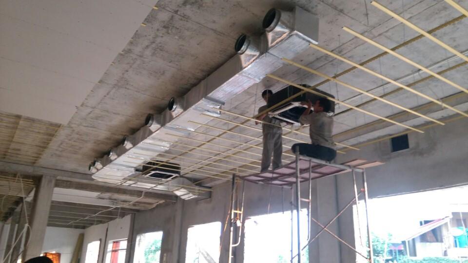 Tìm hiểu sơ lược về ống gió điều hòa trong thi công làm mát nhà xưởng