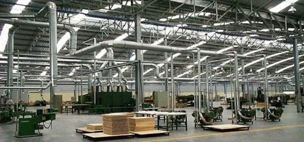 Hệ thống lọc bụi công nghiệp cho nhà xưởng