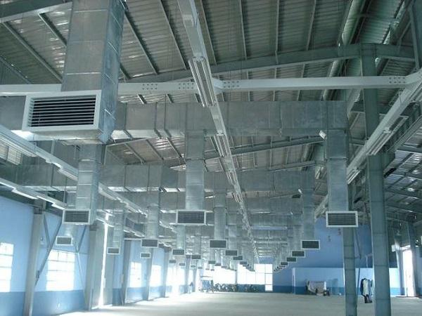Hệ thống thông gió làm mát cho nhà xưởng công nghiệp